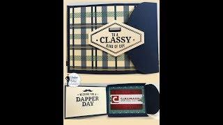 Classy Masculine gift card holder