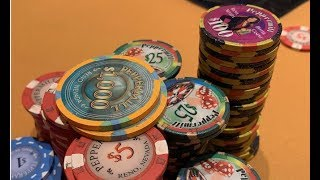 BIGGEST POT EVER WON in Uncapped 5/10!!!... Or Biggest Losing Day Of My Life - Poker Vlog EP 92