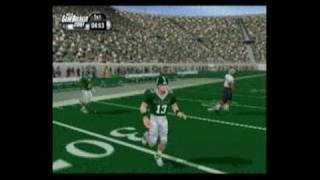 NCAA GameBreaker 2001 PlayStation 2 Gameplay_2000_12_14_1