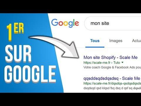 1ER SUR GOOGLE ADS / ADWORDS (Shopify / Ecommerce)