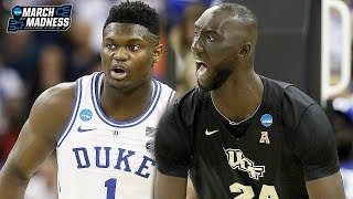 UCF vs Duke Game Highlights (Zion Williamson vs Tacko Fall) - March 24, 2019 | 2019 March Madness Video