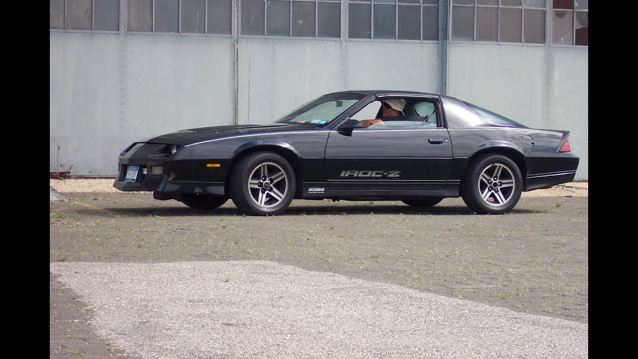 1986 camaro iroc z28 easy 10 minute oil change tips and. Black Bedroom Furniture Sets. Home Design Ideas