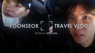 yoonseok flight vlog¡au