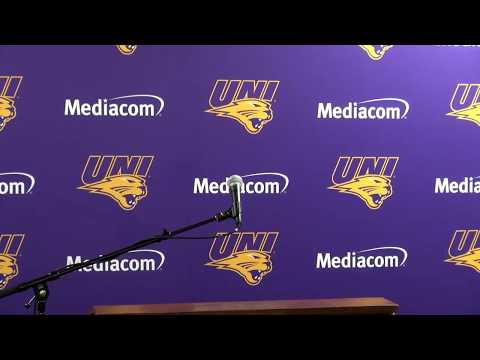 UNI Weekly Athletics Press Conference 10-2-2017