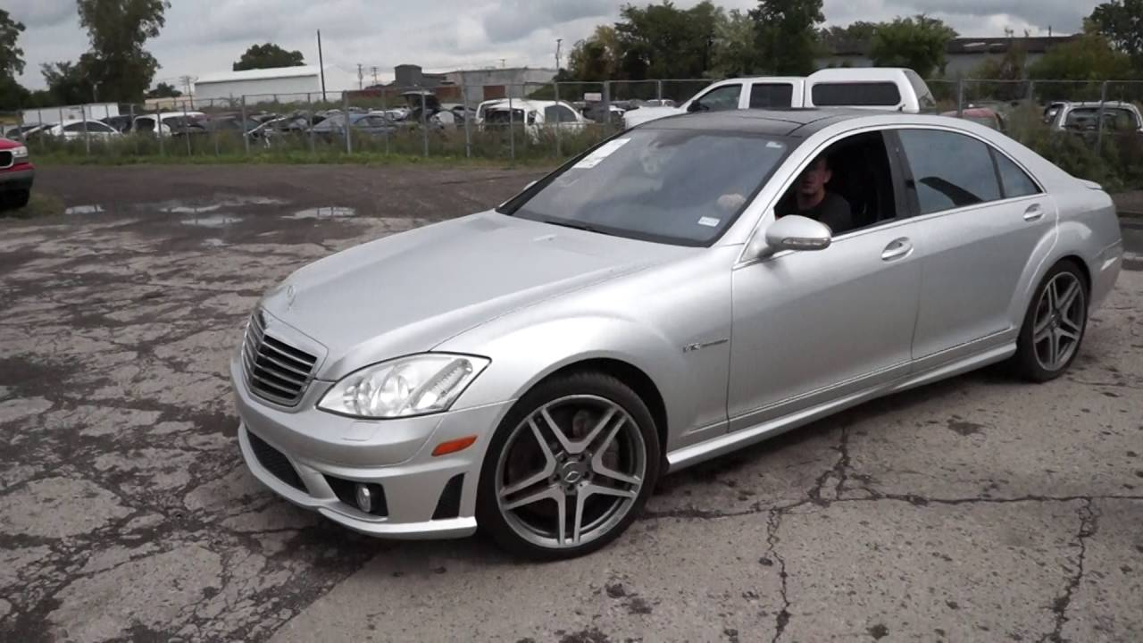 2009 Mercedes S65 Amg W221 6 0l V12 Bi Turbo M275 Parts Vehicle Enigne Driving Lot Test 161106 You