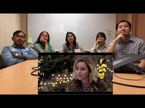 Last Christmas Official Trailer Reaction | Reaksi