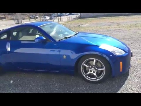 2006 Nissan 350z Touring edition  YouTube