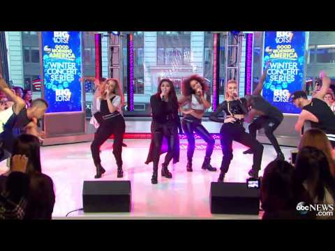 Little Mix - Move - Good Morning America (02/04/2014)