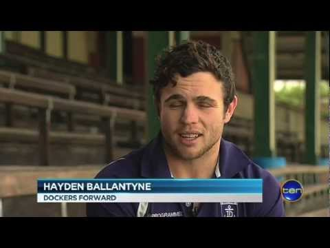 Ballantyne has moved on - Interview on Ten News Sept 6, 2012