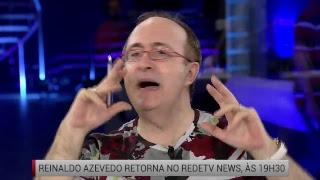 Reinaldo Azevedo ao vivo