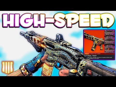 Spinal Trap Reactive Camo ICR Best Class Setup | CoD BO4 1 22 Update