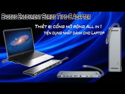 Công Chuyển Đổi USB - C Ra 11 Cổng Này Tiện Cho Các Bạn Dùng Macbook Và Laptop