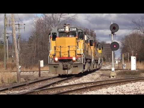 Ann Arbor Railroad at Pittsfield Junction