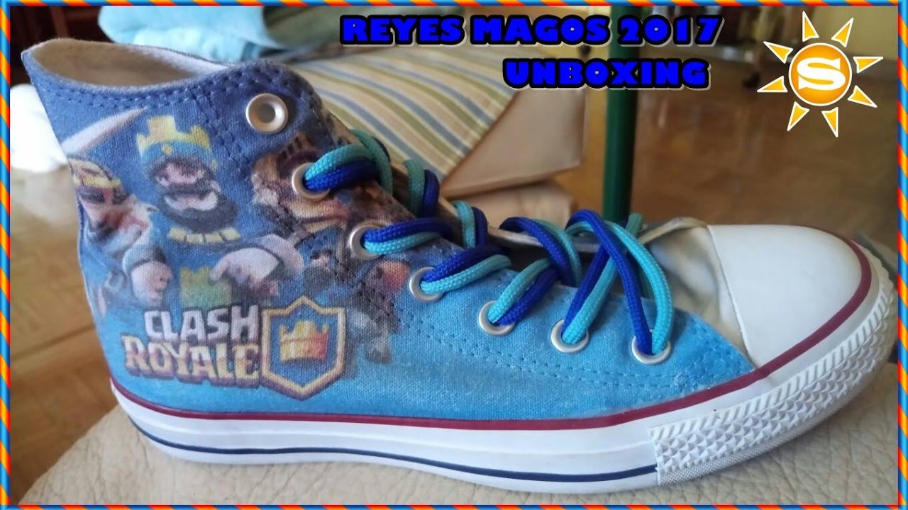 1f417ddf4f5327 Unboxing Custom Converse All Star Clash Royale Edition - YouTube