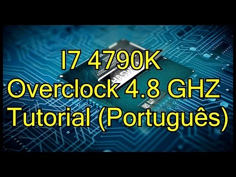 I7 4790K Overclock 4.8 Ghz Tutorial