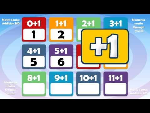 Addition + 1 Kids Song | Counting and Numbers | Children's Music