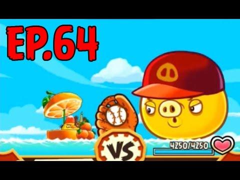 Angry Birds Fight! - SUPER BASEBALL PIG - RARE PROFESSIONAL BAT (CHUCK) - EP64