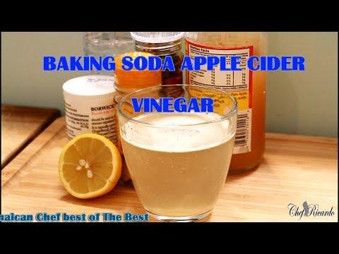 Baking Soda And Apple Vinegar For Weight Loss On Detox (For