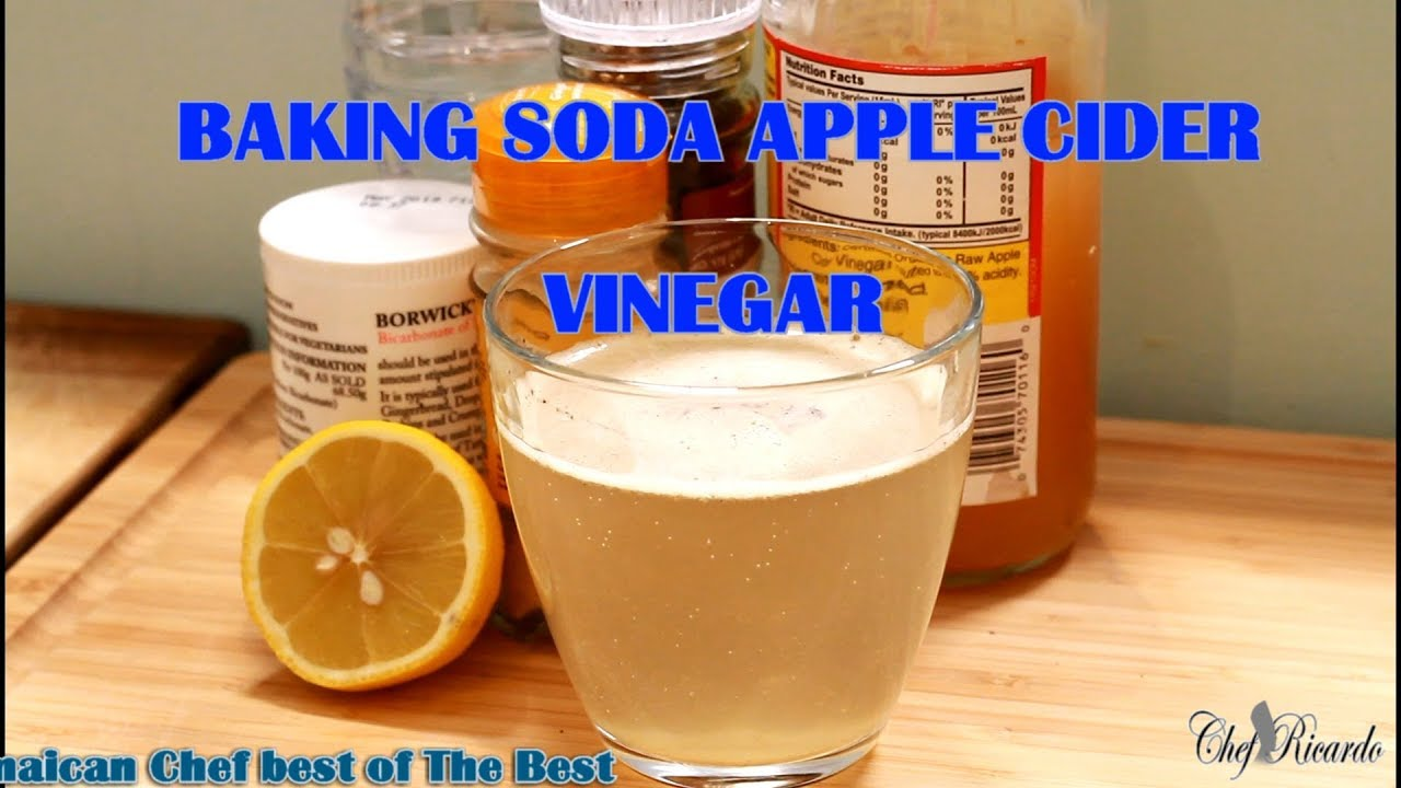 Baking Soda And Apple Vinegar For Weight Loss On Detox (For 5 Days) |  Recipes By Chef Ricardo