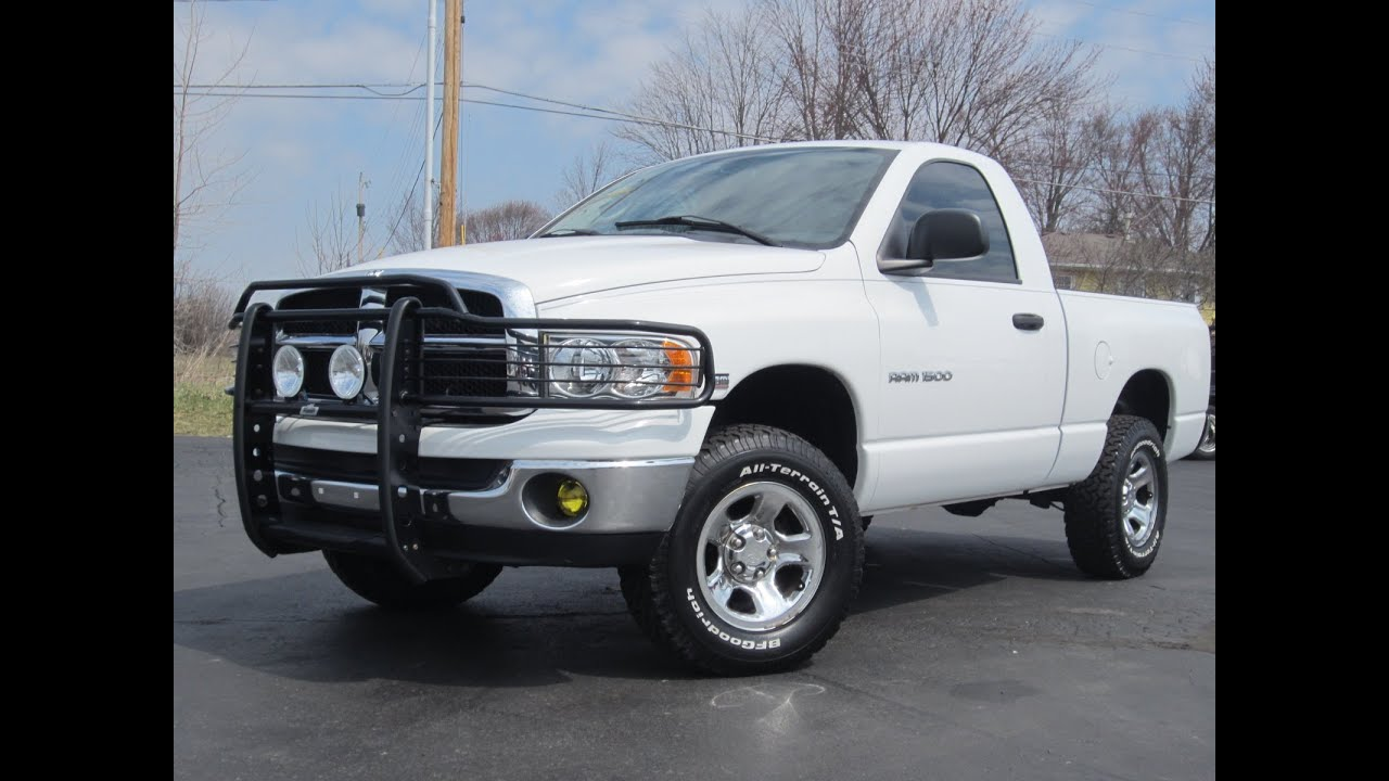 2005 Dodge Ram 1500 HEMI 4x4 Regular Cab Short Bed FAST SOLD