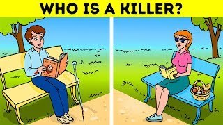 10 CRIME RIDDLES YOU HAVE TO SOLVE BEFORE IT'S TOO LATE!