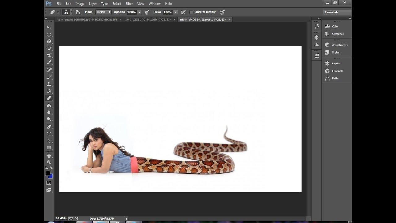 icchadhari naagin photoshop editing photo maniupalation