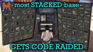 Salty clan get DAY 1 CODE RAIDED! WE'RE STACKED! | Rust Vanilla+ Duo/trio survival gameplay Ep 1