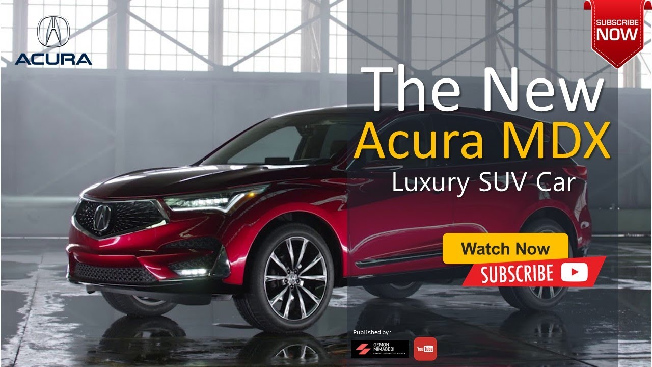 2021 Acura Mdx Rumors Price and Review