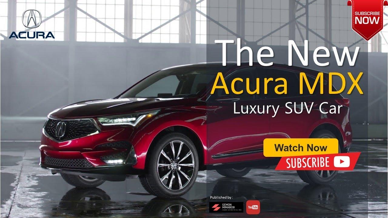 2021 Acura MDX Hybrid Spy Shoot
