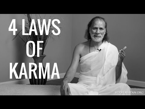 *FOUR Laws of Karma* What is Karma and How to Remove it (Nikachit Good and Bad Karma)