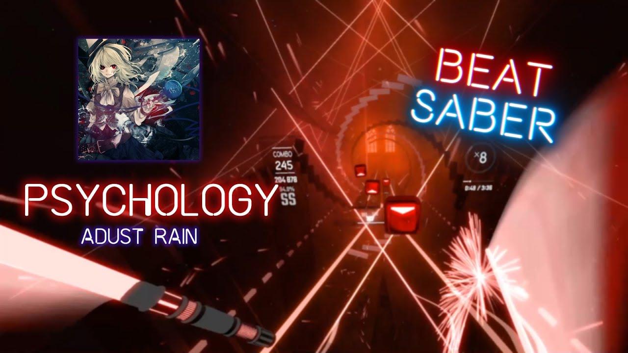 SAME COLOR NOTES | psychology - Adust Rain | 90.6% SS | Beat Saber Edit