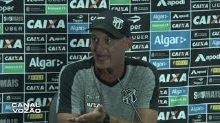 [Série A '18] Coletiva Lisca | TV | Pós-jogo Grêmio FBPA 3 X 2 Ceará SC | Canal do Vozão