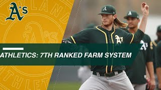 Highlights of the Athletics' top prospects