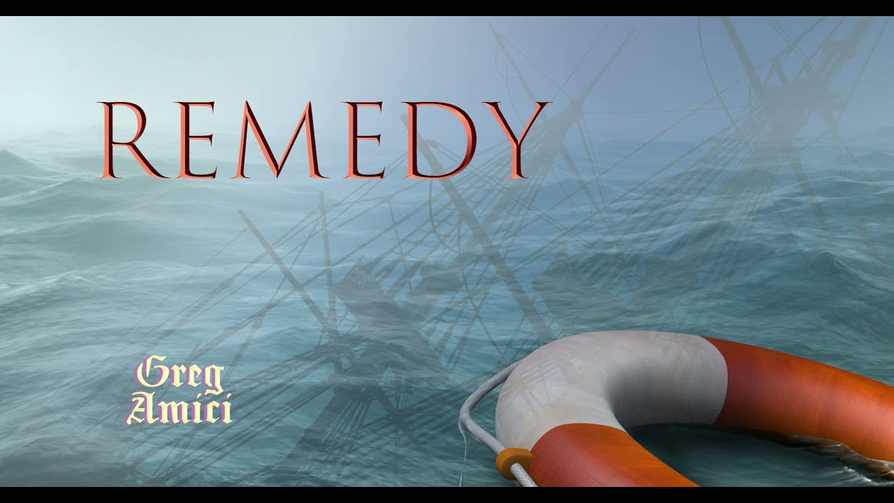 Greg Amici - Remedy (Official Lyric Video)