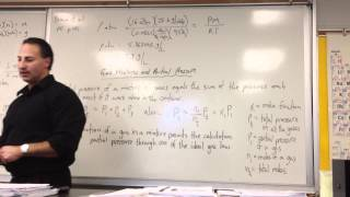 Gas Laws Part 7: Density and Partial Pressure of Gases