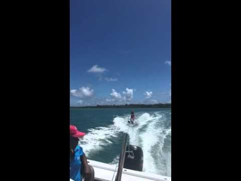 WaterSkiing in Mauritius