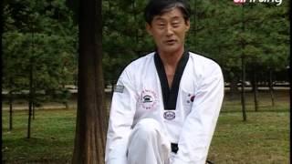 Taekwondo Step by Step Ep165 Taegeuk 7 Jang Wen apgubi momtong hecho-makki 왼 앞굽이 몸통 헤쳐막기
