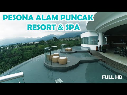 Pesona Alam Resort & SPA Hotel puncak, Bogor - video review [FULL HD]
