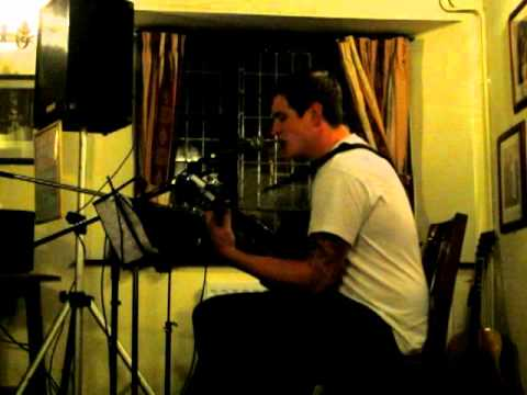 Feeling Good Muse live solo acoustic cover by Graeme Armstrong