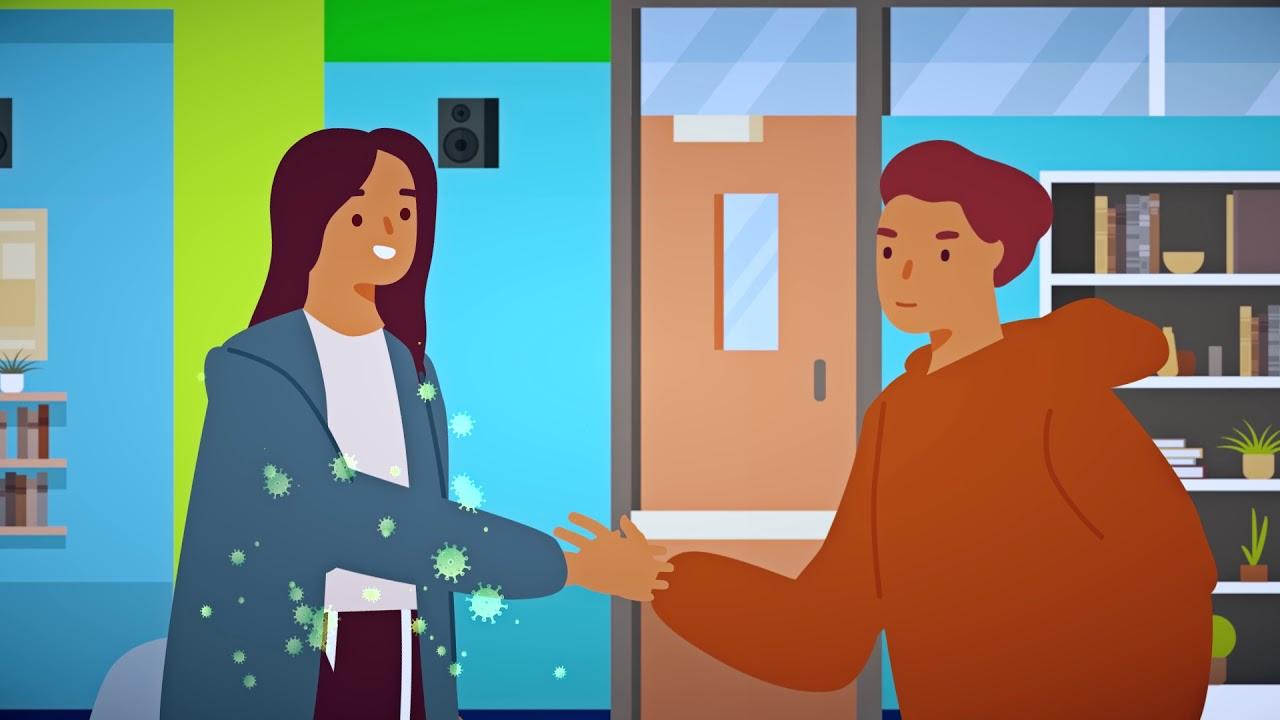 الوقاية من «كوفيد 19» داخل مؤسسات الرعاية الاجتماعية – موجه للأطفال