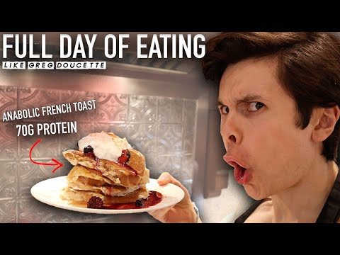 Full Day of Eating Greg Doucette Style   ANABOLIC KITCHEN REVIEW   Low Calorie Recipes