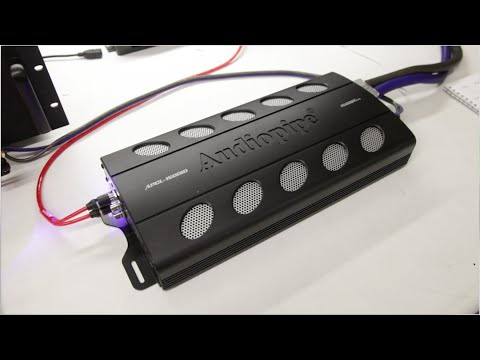 Audiopipe APCL-15001D Amp Dyno 16 Volt Test!  | SMD D'Amore AD-1