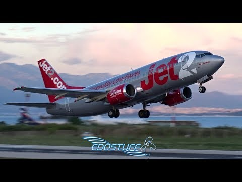 Beautiful Boeing 737-300 Close-up Takeoff from Split Airport LDSP/SPU