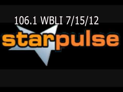Starpulse's Top 3 Stories ON 106.1 WBLI! 7/15/12