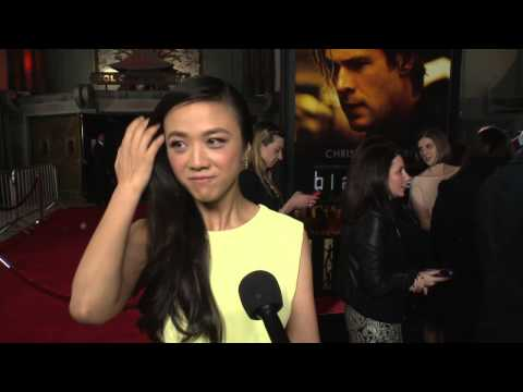 Blackhat: Tang Wei Red Carpet Movie Premiere Interview