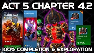 Act 5 Chapter 4.2 100% Completion & Exploration (Morningstar Boss) | Marvel Contest of Champions