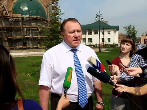 Виталий Бобров о строительстве храма в Красноярске