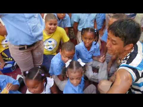 Dancer × Backpacker Shimon owaki , World travel 36 in  Santodomingo / Dominica Republic   (HD)