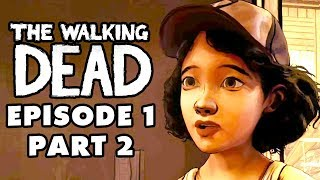 The Walking Dead Game - Episode 1, Part 2 - Adventures in Babysitting (Gameplay Walkthrough)