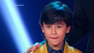 Daniela, Jerónimo y Juan cantaron Treasure de Bruno Mars – LVK Col – Batallas – Cap 27 – T2